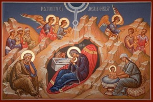 Nativity Scene Icon