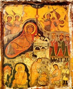 7th century Sinai Nativity Icon