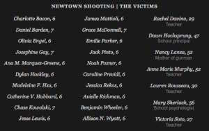 These are the names and ages of those lost in this brutal tragedy.