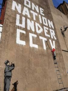 banksy cctv