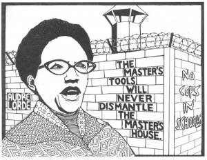Audre Lorde quote on dismantling the Master's House