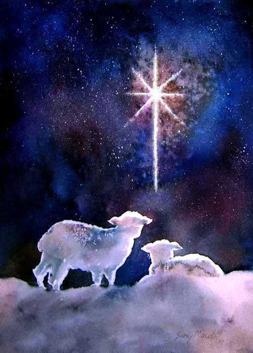 night wind to the little lamb