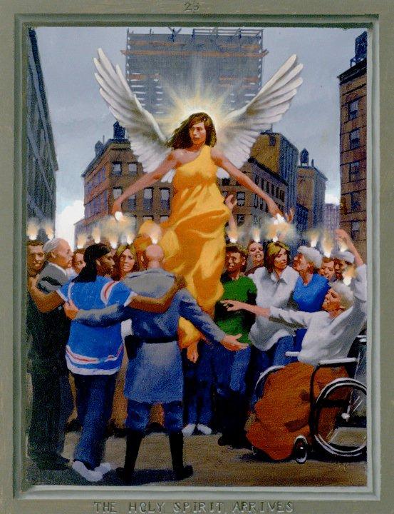 The Holy Spirit Arrives