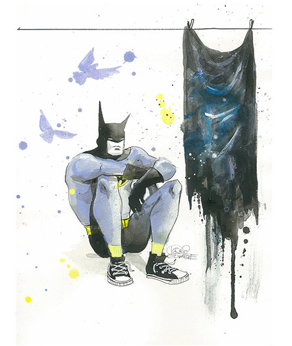 Depressed Batman