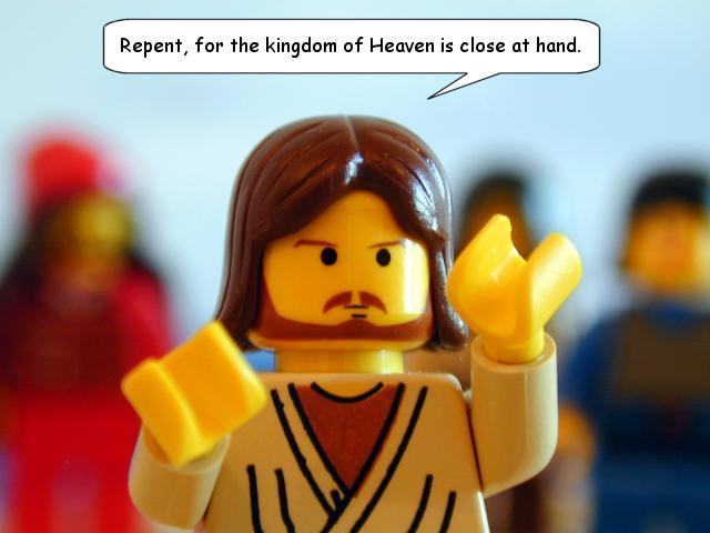 brick testament Jesus