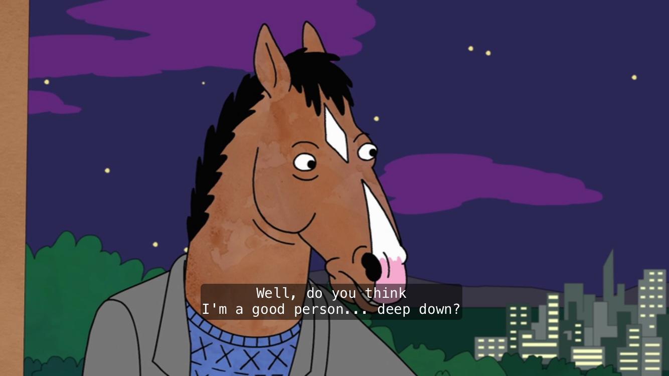 how to draw bojack horseman