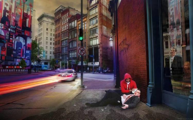 The Good Samaritan by Christopher Ruane