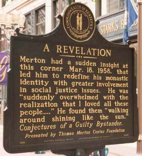 Thomas Merton Plaque